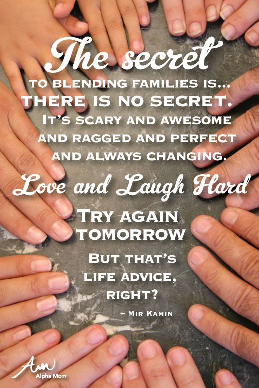"Secrets to a Blended Family! Autie and I do our best and our best will do. We are going to be saying ""I do"" and I'm so blessed our life is full. ❤"