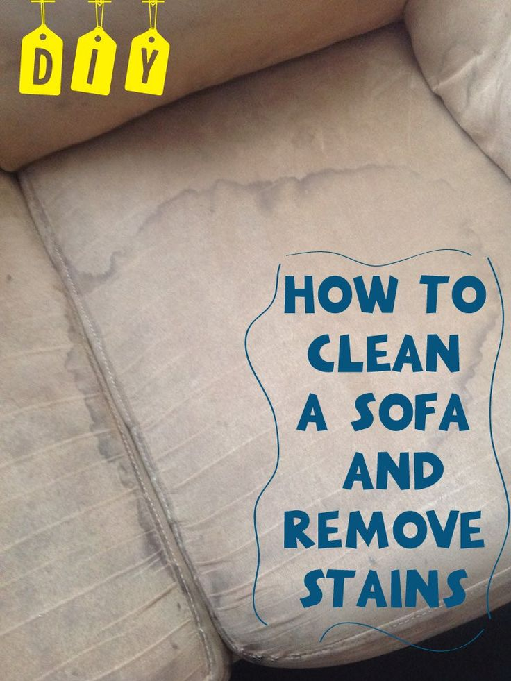 how to get stains out of microfiber