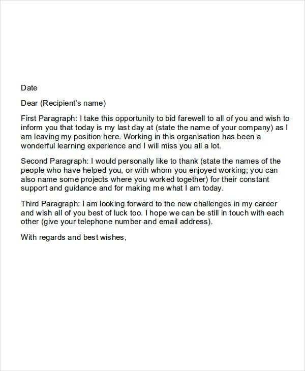 sle farewell letter when leaving a proyectoportal | Goodbye email. Farewell letter to colleagues. Goodbye email to coworkers