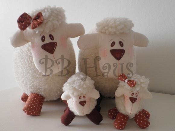Família de Ovelhas. BB Haus