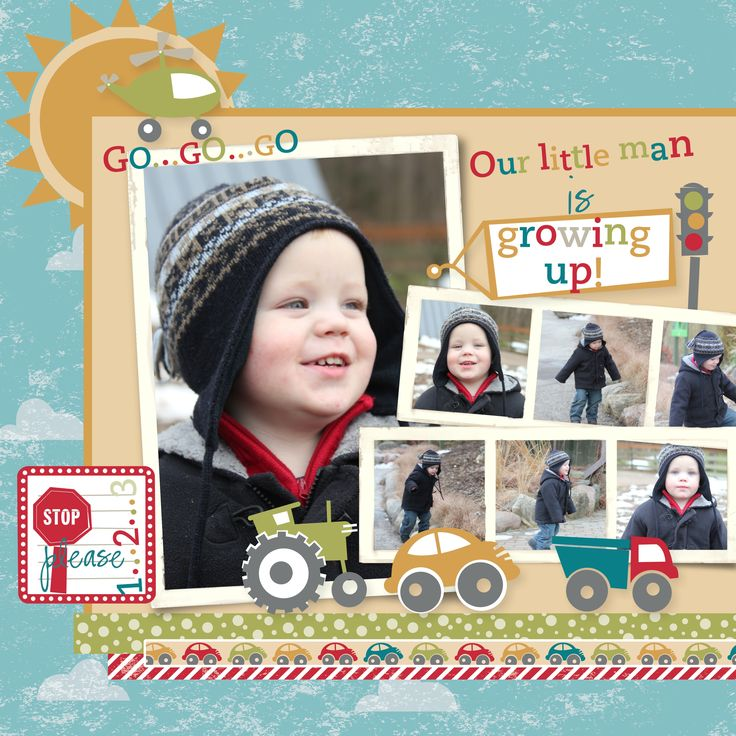 LOVE this page by Heather Summers!!!!  one of my Favourites! @Heather Creswell Creswell Creswell Summers