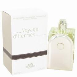 Voyage D'Hermes by Hermes Eau De Toilette Spray Refillable 3.3 oz (Men)