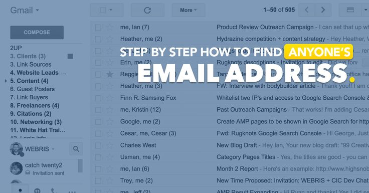 11 Ways to Find ANYONE's Email Address (FREE Checklist)
