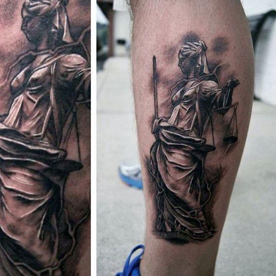 40 Lady Justice Tattoo Designs For Men Impartial Scale Ideas Justice Tattoo Lady Justice Tattoo Designs Men