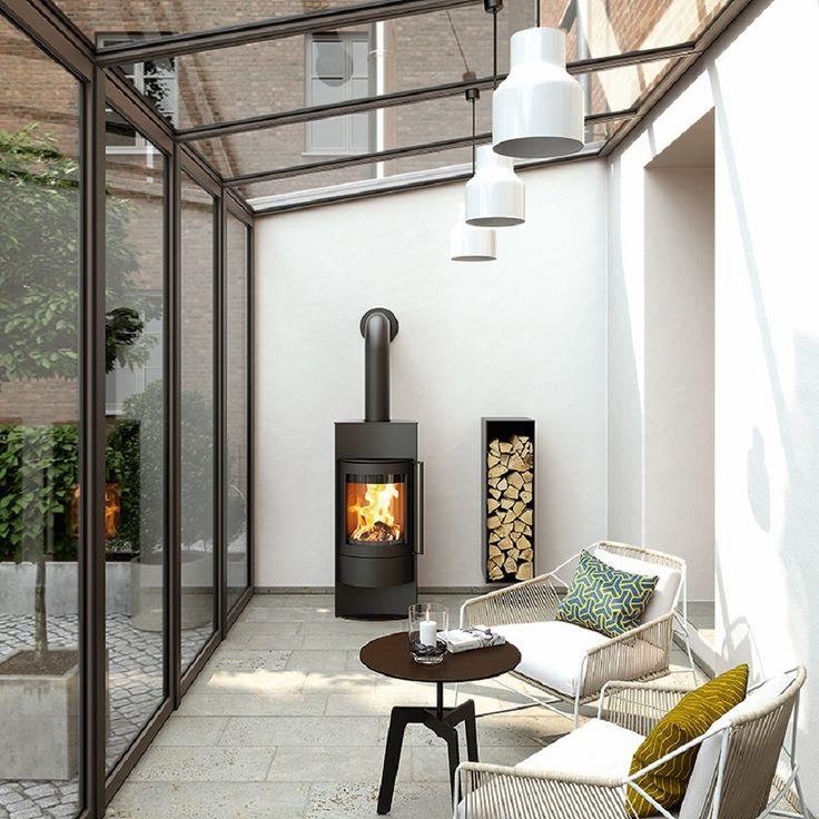 Oltre 25 fantastiche idee su verande su pinterest for Veranda con caminetto a gas schermato