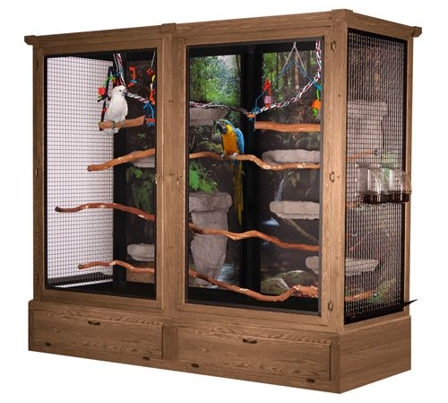 Mb04 Bird Cage 72 Quot H X 96 Quot L X 36 Quot D Parrot Cage Diy Bird