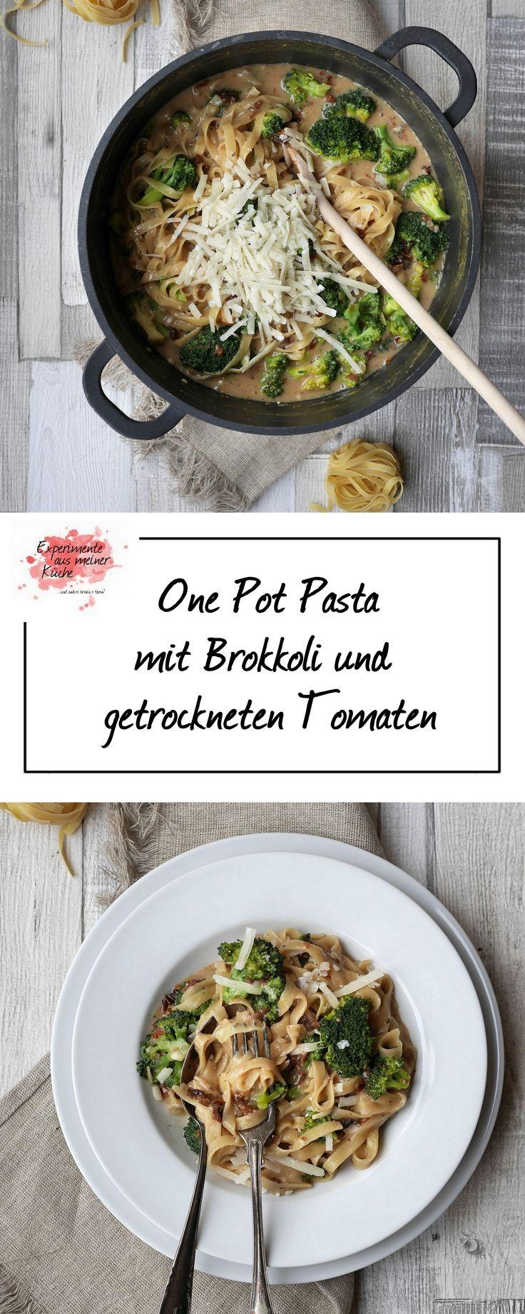 One Pot Pasta mit Brokkoli und getrockneten Tomaten | Kochen | Rezept | Weight Watchers