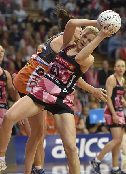 Sasha Glasgow of the Thunderbirds during the round eleven Super Netball match between the Thunderbirds and the Giants at Priceline Stadium Arena on May 7, 2017 in Adelaide, Australia.
