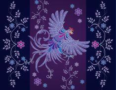 Vector abstract textile designs vector art illustration