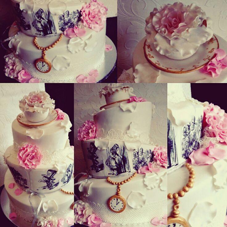 Cinderella whimsical cake I made this weekend.