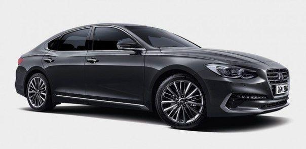 Hyundai Grandeur получил восьмидиапазонный «автомат» / Только машины