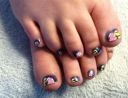 Have a look at the collection of 12 Easter toe Nail art designs & ideas of  Stay hooked for more updates are yet to come till the arrival of Easter. - 34 Best Easter Toe Nail Art Designs Images On Pinterest Toe Nail