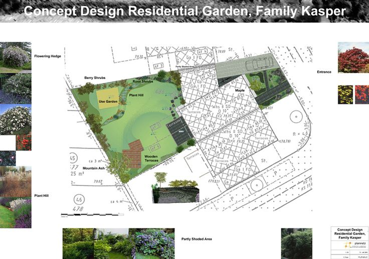 48 best images about landscaping plans on pinterest for Residential landscape plan