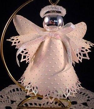 Homemade Angel Ornaments  Angel Christmas tree ornaments to make - Columbus ...