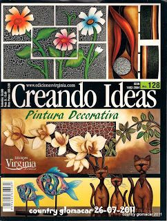 revista gratis pintura decorativa