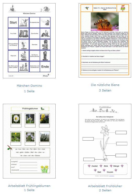 Auf den Seiten der Lernbiene finden Sie über 500 kostenlose Arbeitsblätter (hauptsächlich für den Volksschul-/Grundschulbereich). Die Arbeitsblätter sind dabei sehr übersichtlich nach Fächern geordnet.
