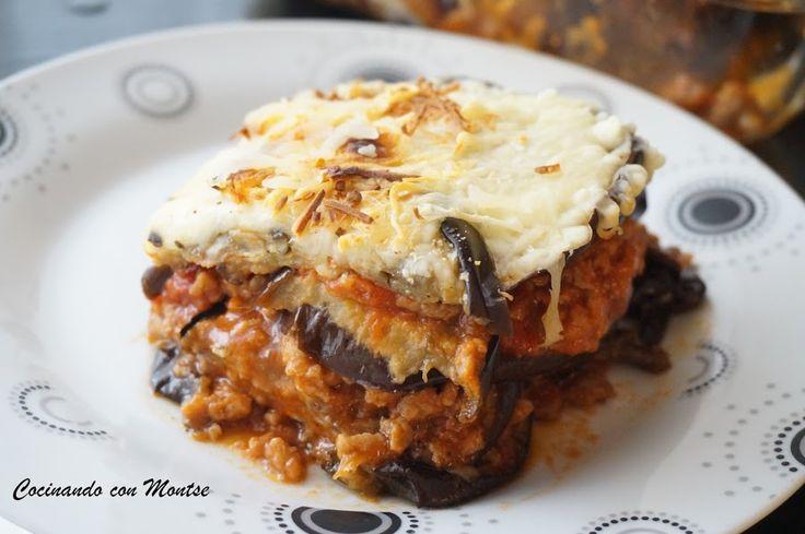 Lasaña de berenjenas o Mousaka | Cocina