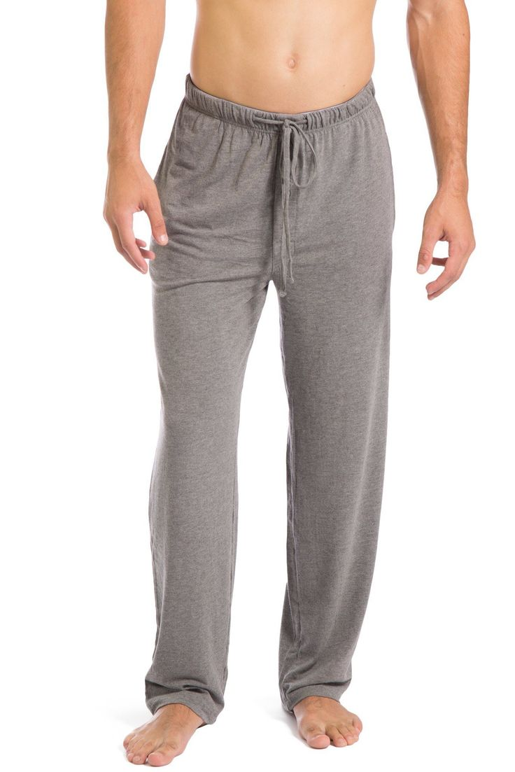 Men's Pajama Pants Ecofabric All Day Comfort Jersey Pants