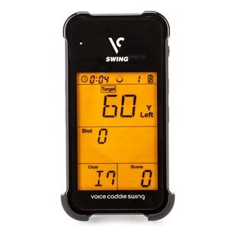 Golf Online Swing Caddie Launch Monitor SC100 The Swing Caddie SC100 Launch Monitor is a Standalone device(no phone app needed) that will offer Instant feedback via LCD display of your golf stroke. It will measures the Carry Distance Swing Speed  http://www.MightGet.com/may-2017-1/golf-online-swing-caddie-launch-monitor-sc100.asp