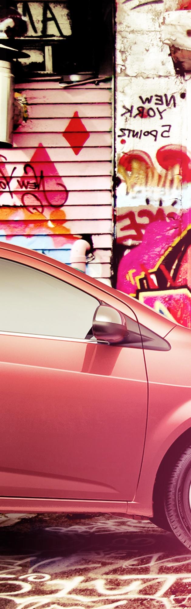 Foto 3. Completa la imagen y descubre más formas de vivir la aventura. #ChevroletSonicLlego