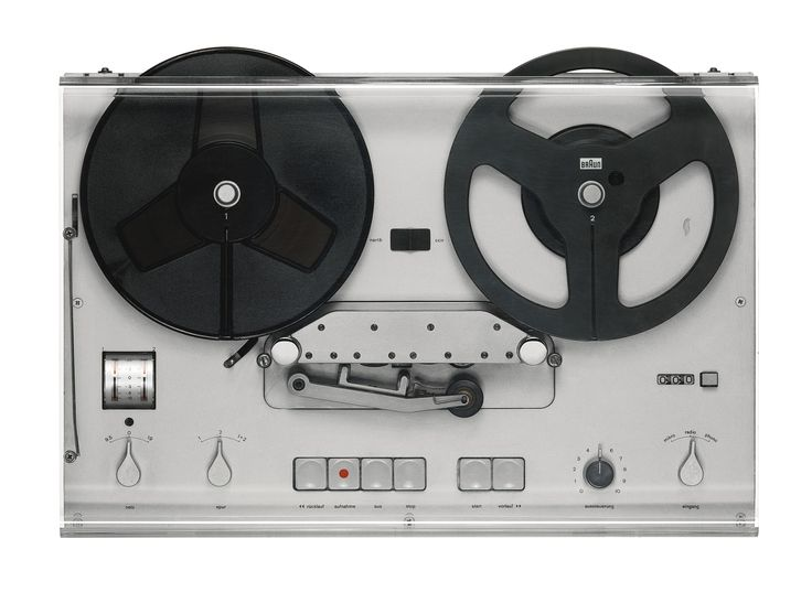 DIETER RAMS VINTAGE HI-FI SYSTEM - TG 60 tape recorder (1965) 100,000 USD