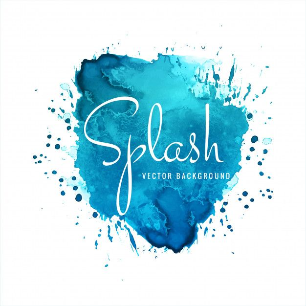 Download Beautiful Elegant Watercolor Splash Background For Free
