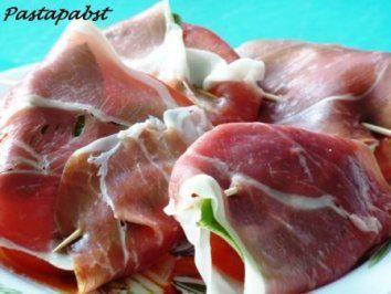 Tomaten Saltimbocca - Rezept