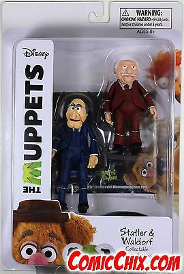 Muppets Sesame Street 2627: Muppets Select ~ Statler And Waldorf Collectable Action Figure Set ~ Tru Exclusive -> BUY IT NOW ONLY: $59.99 on eBay!