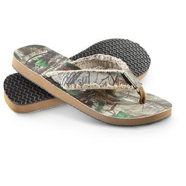 1cfe6a1ac5d5d Men's Team Realtree® Mallard Sandals, Realtree® Xtra Green ...