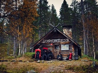 Hiking in Urho Kekkonen National Park is safe. There are plenty of bookable and freely available huts for overnight stays, as well as saunas; the area also has lots of water and wood for cooking.