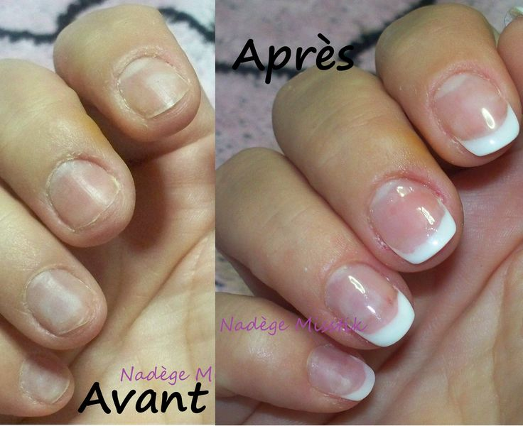 pose faux ongles gel 77