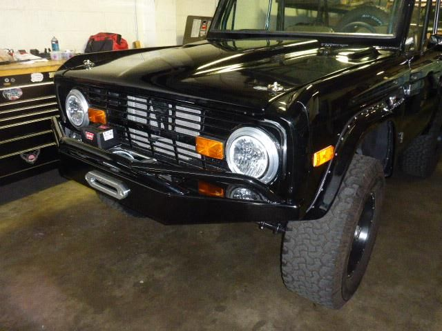 black  Ford Bronco early Ford small SUV