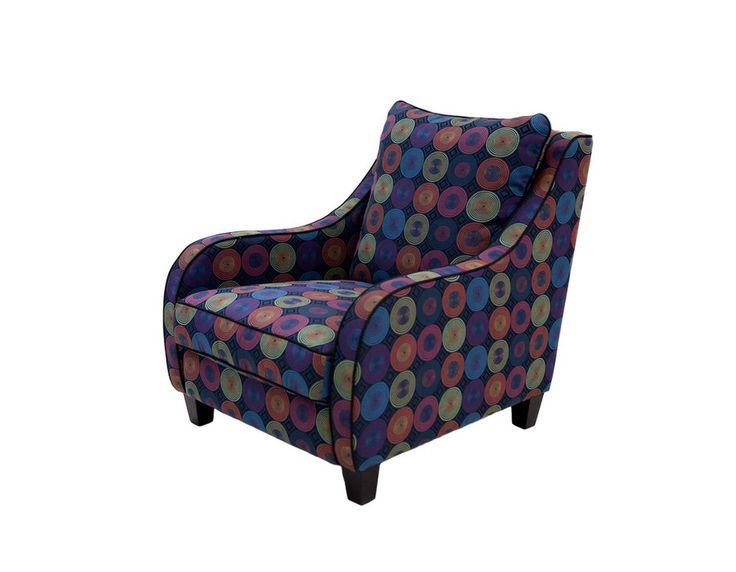 Fotel Cross - Cross to nieduży, zgrabny fotelik idealnie pasujący do różnych kolekcji Bizzarto.Dzięki swojej niebanalnej formie doskonale pasuje zarówno do wnętrz nowoczesnych jak i klasycznych.Jego charakter możemy podkreślić wzorzystą lub gładką tkaniną a także lamówką w innym kolorze.Cross jest niesamowicie miękki i wygodny, wręcz zaprasza aby się w nim rozsiąść.Wymiary: - szerokość: 75 cm - wysokość: 94 cm - głębokość: 94 cm