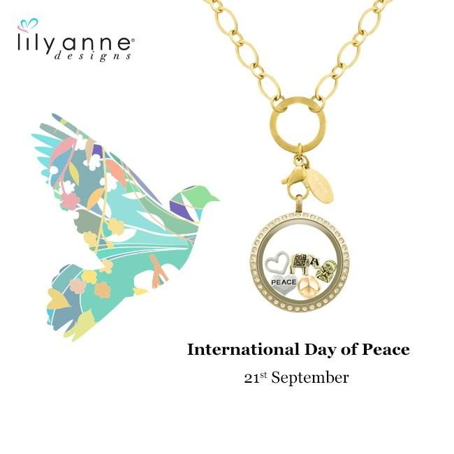 Happy International Day of Peace! There is no path to peace. Peace is the path. - Gandhi #LilyAnneDesigns #Peace