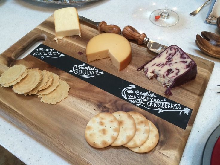 Chalkboard Cutting Board Cheese Tray & 38 best ❤ Fête des pères ❤ images on Pinterest   Feta Budget and ...