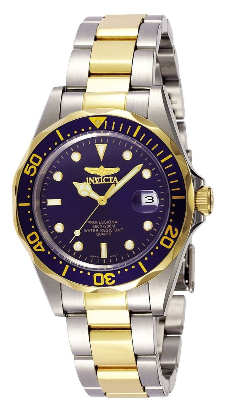 Invicta Watch For Sale Cheap Men Boys Teens 38mm Stainless Steel Pro Driver NEW
