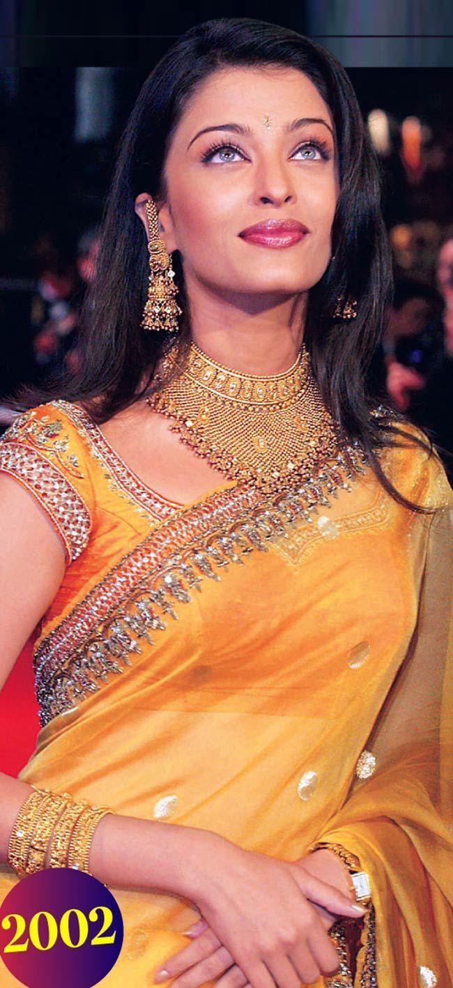 Aishwarya Rai Bachchan at #Cannes 2002.