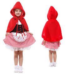 Resultado de imagen para vestido de caperucita roja