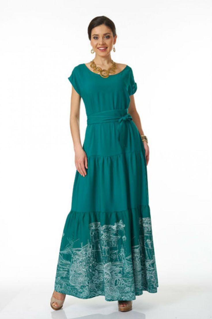 Длинные женские платья фото