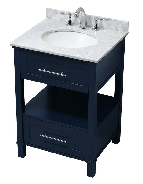 Saunderstown 25 Single Bathroom Vanity Set In 2020 Single Bathroom Vanity Bathroom Vanity Vanity Set