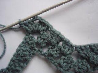 How to crochet granny ripples