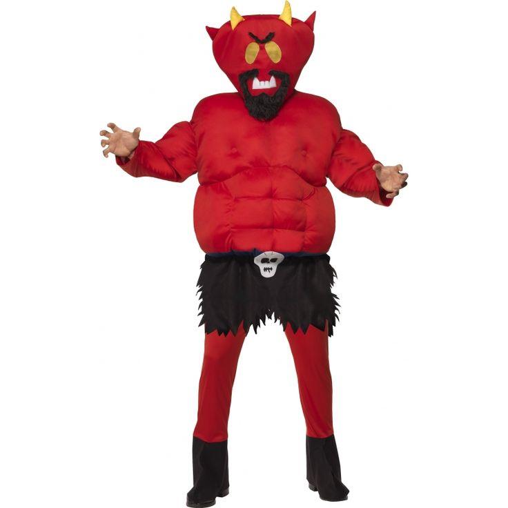 Duivel uit South Park kostuum  South Park duivel kostuum voor volwassenen. Dit rode South Park duivel kostuum bestaat uit een gevulde body suit en gevuld masker. Maat: M/L.  EUR 55.99  Meer informatie