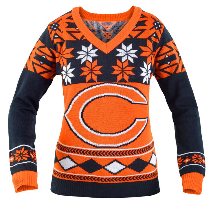 Chicago Bears Ugly Christmas Sweaters | Fashion | Pinterest ...