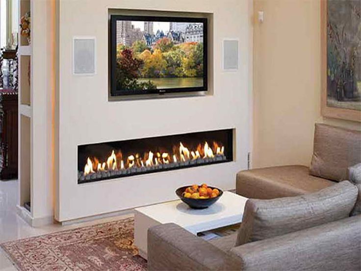 Gas Fireplace Built In Open Hearth Contemporary CLEAR 200 Ortal USA
