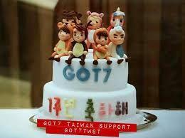 Image result for got7 birthday cake