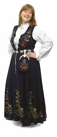 Whether it's this Bergen's Bunad or another folk costume from Norway, when the pounds melt away this will be my indulgence...