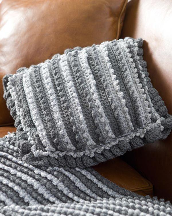 Mejores 169 imágenes de Crochet: Pillows en Pinterest   Cojines ...