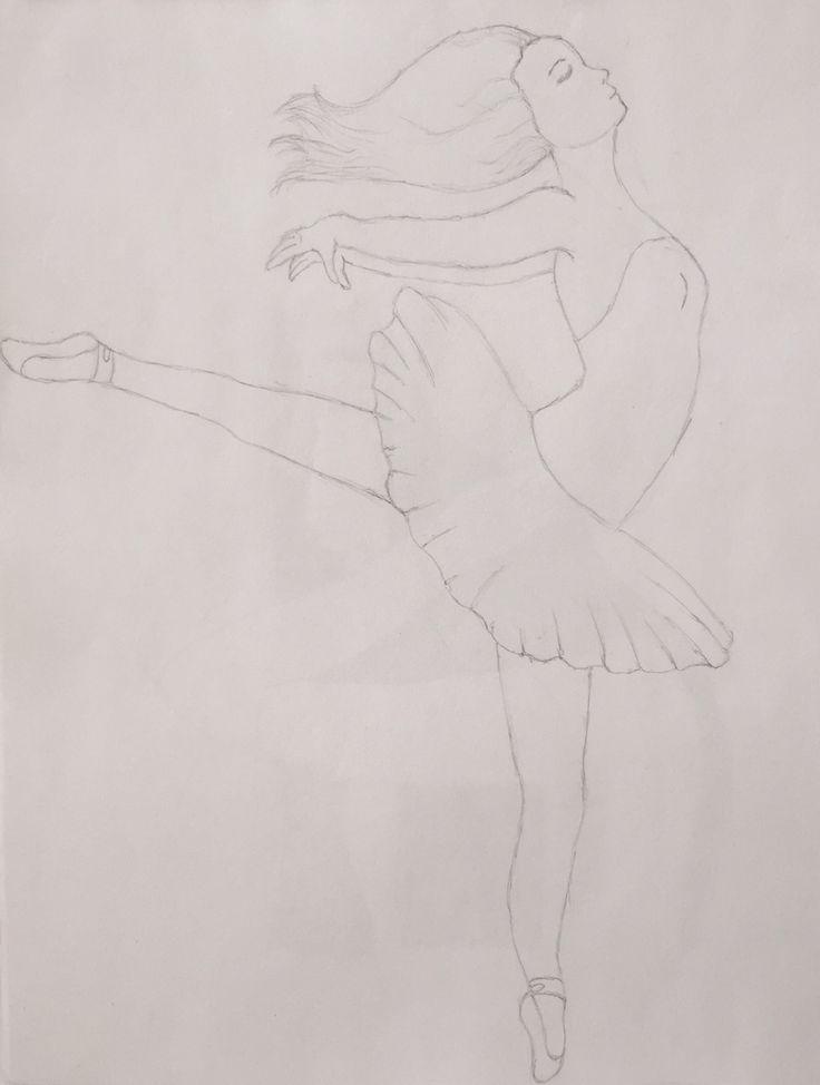 #dibujo #bailarina #ballet