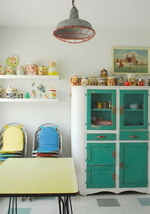 146 best vintage kitchen ideas images on pinterest | home, retro