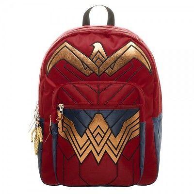 Backpack - Batman v Superman - Dawn of Justice Wonder Woman Licensed bp434qdoj Ebay